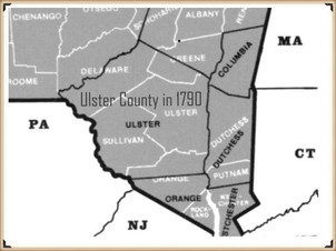 Ulster County 1790