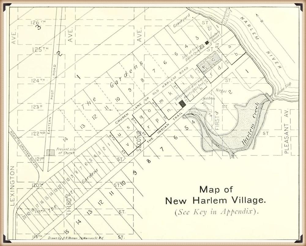Map of New Harlem Village