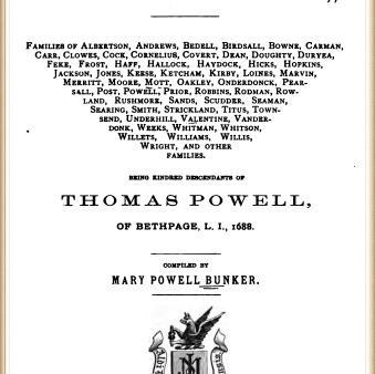 Long Island Genealogies
