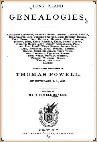 John Underhill in Long Island Genealogies