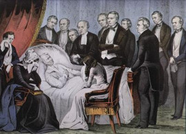 DEATH OF GENERAL Z. TAYLOR - 12TH PRESIDENT OF THE  U.S.