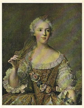 PORTRAIT OF MADAME SOPHIE, DAUGHTER of LOUIS XV