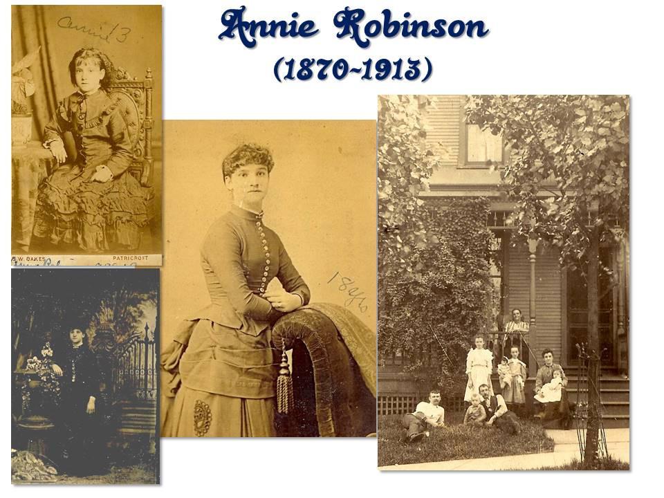 Annie (Robinson) Dickinson photos