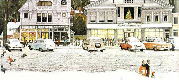 STOCKBRIDGE AT CHRISTMAS