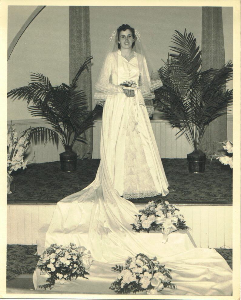 Margaret (Dickinson) Reese bride