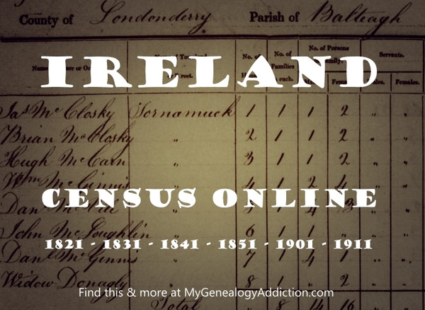 National Archives of Ireland - Census & More