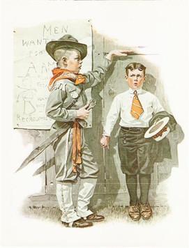 Recruiting Officer / Not Tall Enough