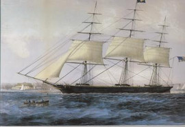 CLIPPER SHIP NIGHTINGALE