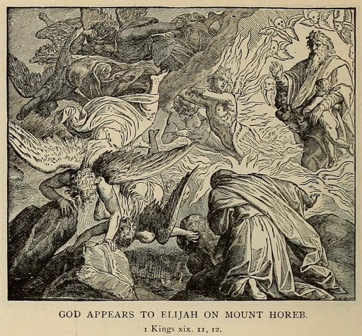 The Lord speaks to Elijah