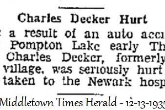 Charles Decker of Middletown c.1906