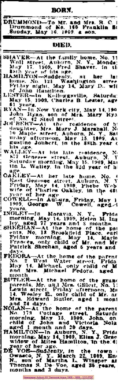 1909-May 16