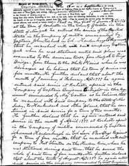 Benjamin Stanton in the American Revolution