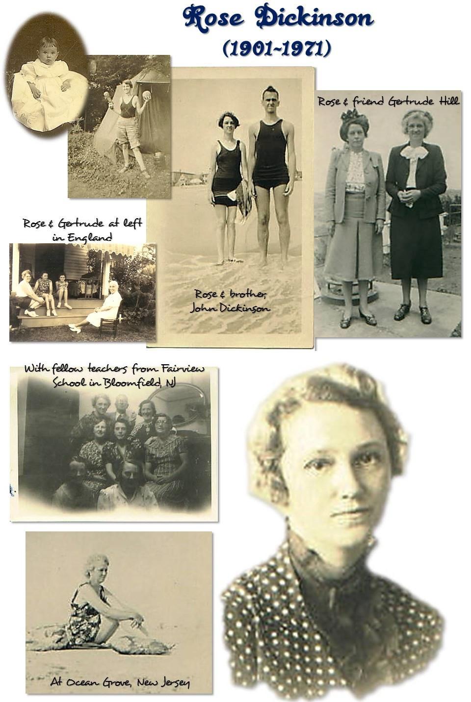 Rose Dickinson (1901-1970)