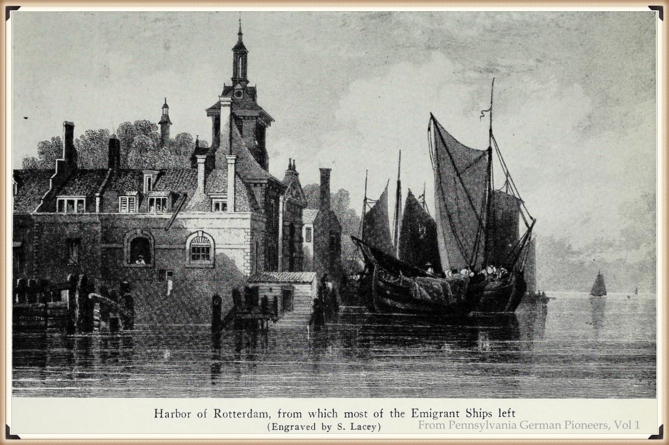 Harbor of Rotterdam