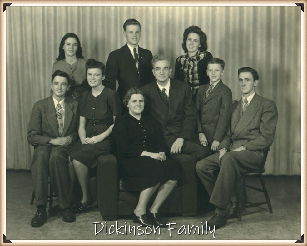 William H Dickinson family portrait (group)