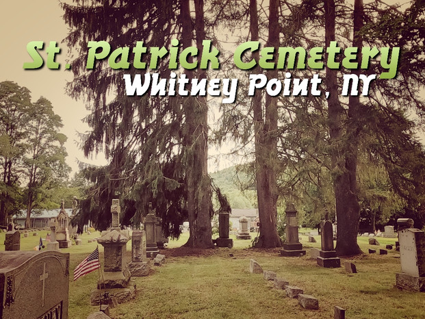 St Patrick Cemetery video