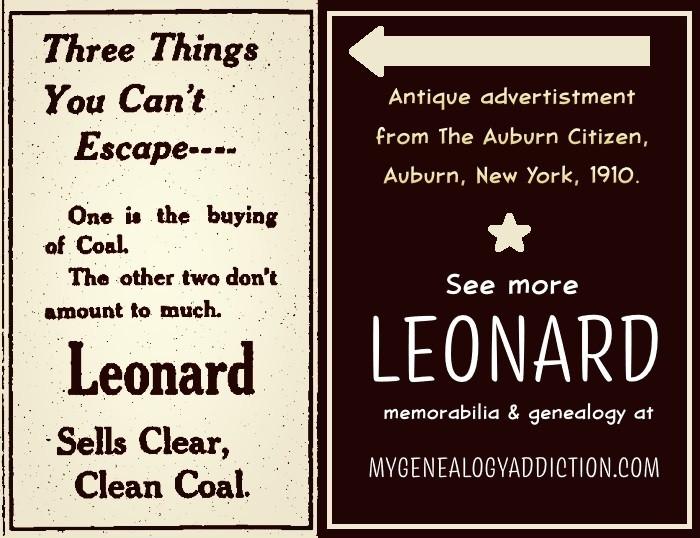 Leonard Coal - Auburn, New York