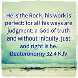Deuteronomy 32:4