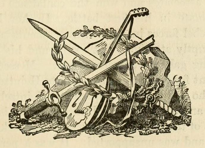 Arts & War graphic illustration