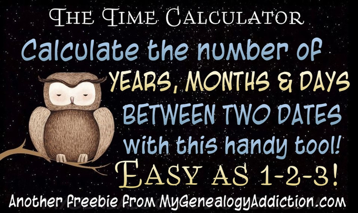Time Calculator (Find the difference between two dates)