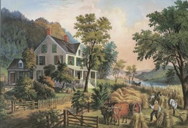 THE FARMER'S HOME - HARVEST