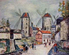 WINDMILLS OF MONTMARTRE