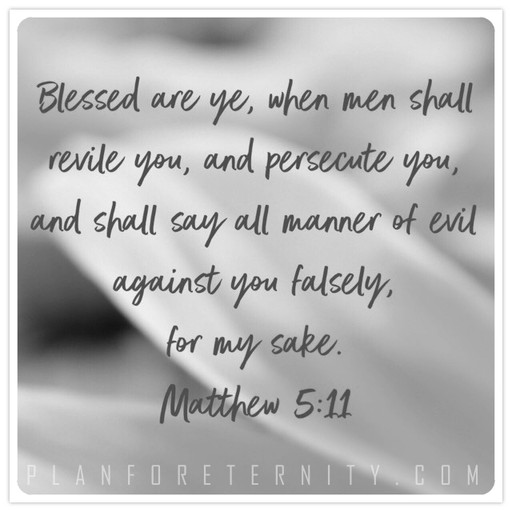 Blessed are the persecuted followers of Christ