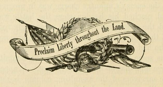 Proclaim Liberty throughout the Land banner