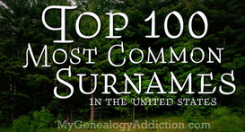 Top 100 Surnames