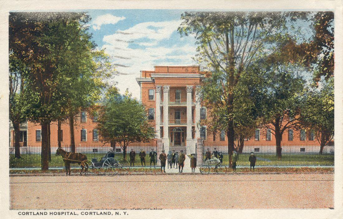 Cortland New York postcards