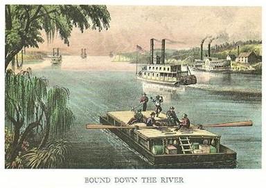 BOUND DOWN THE RIVER - MISSISSIPPI