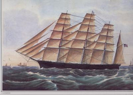 CLIPPER SHIP GREAT REPUBLIC