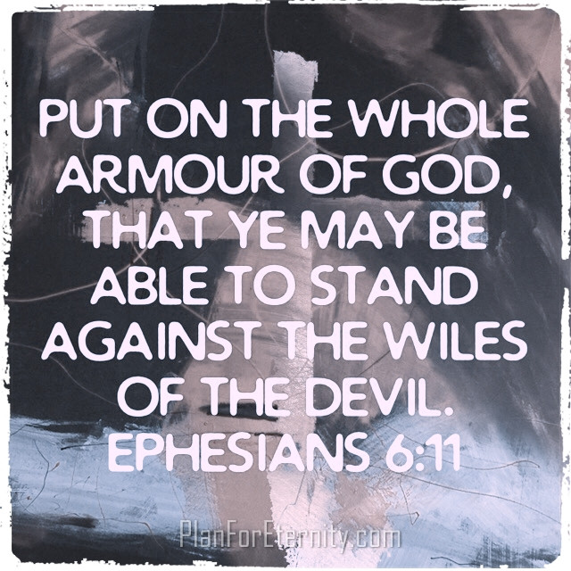 Stand against the devil