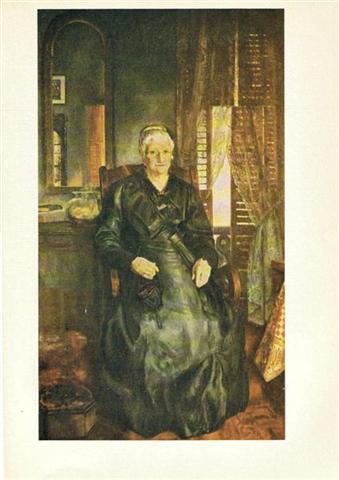 PORTRAIT OF ARTIST'S MOTHER