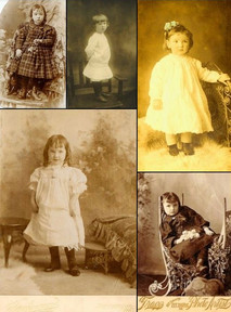 Harry and Annie's daughters portraits