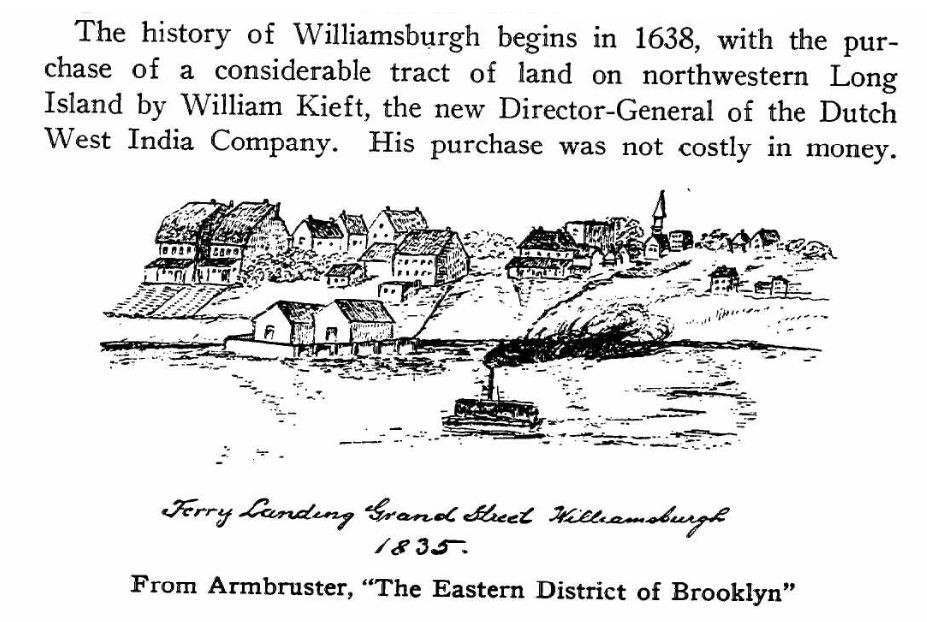 A century of change being the centennial history of a city church the First Baptist Church in Williamsburgh, 1839-1939