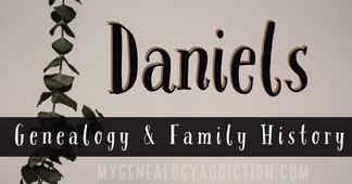 Daniels family history