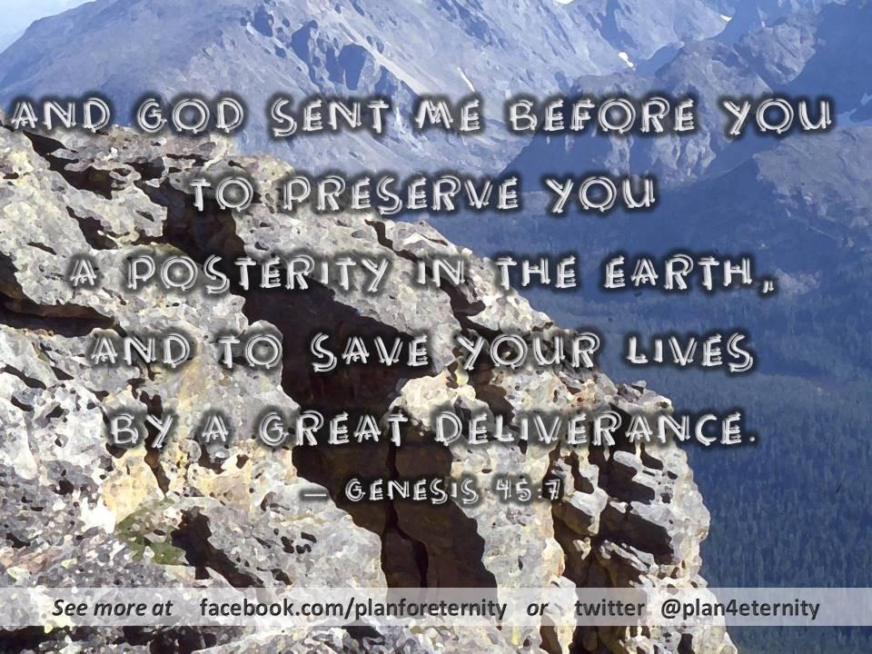 God provides deliverance