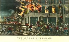 THE LIFE OF A FIREMAN - THE FIRE