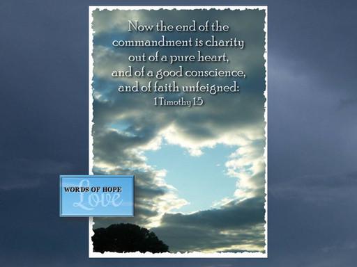 The Commandment of Love