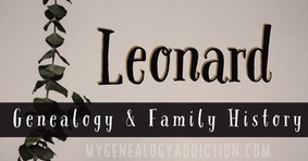 Leonard family history