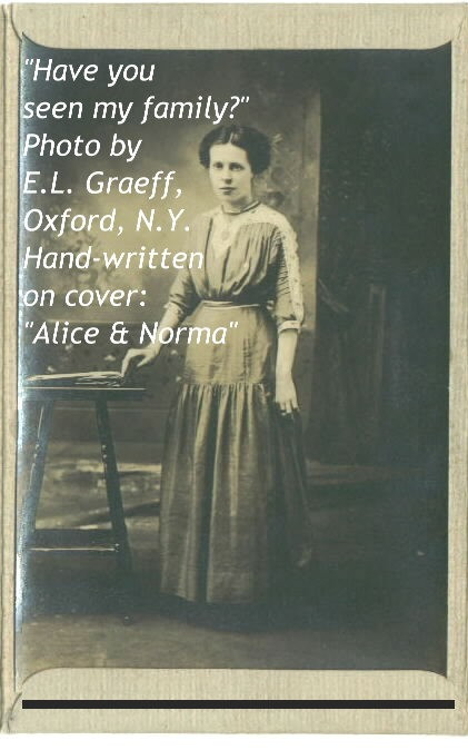 Woman in Oxford NY photograph