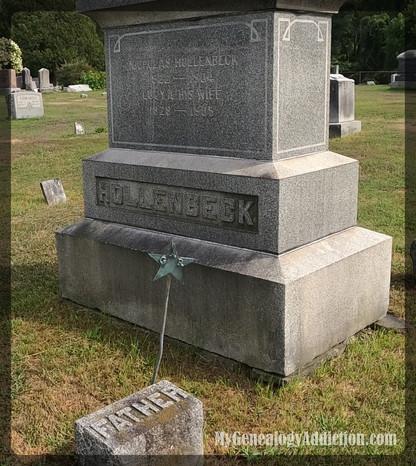 Nicholas & Lucy Hollenbeck's Grave