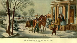 AMERICAN COUNTRY LIFE - PLEASURES OF WINTER