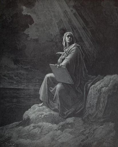 John hears voices at Patmos