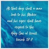 Isaiah 17:7