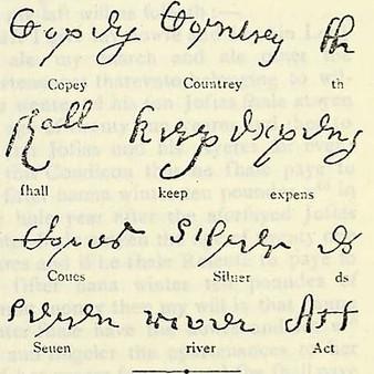 Colonial Handwriting