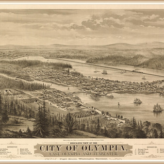 Olympia, Washington in 1879