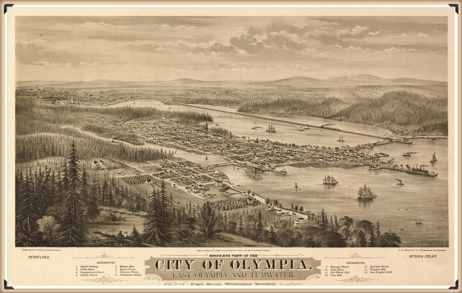 Olympia, Washington in 1879