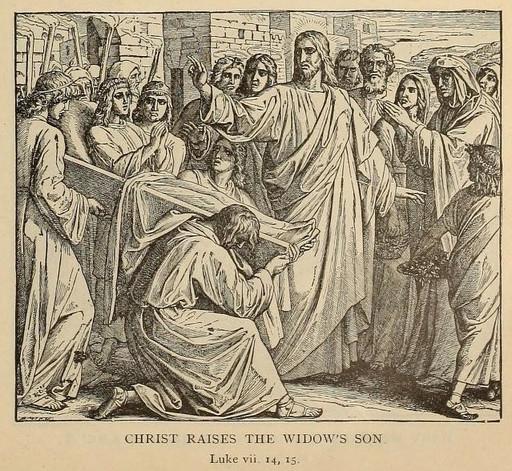 Christ raises the widow's son